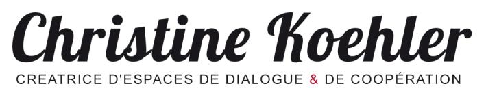 logo Christine Koehler, creatrice de dialogue et de coopération