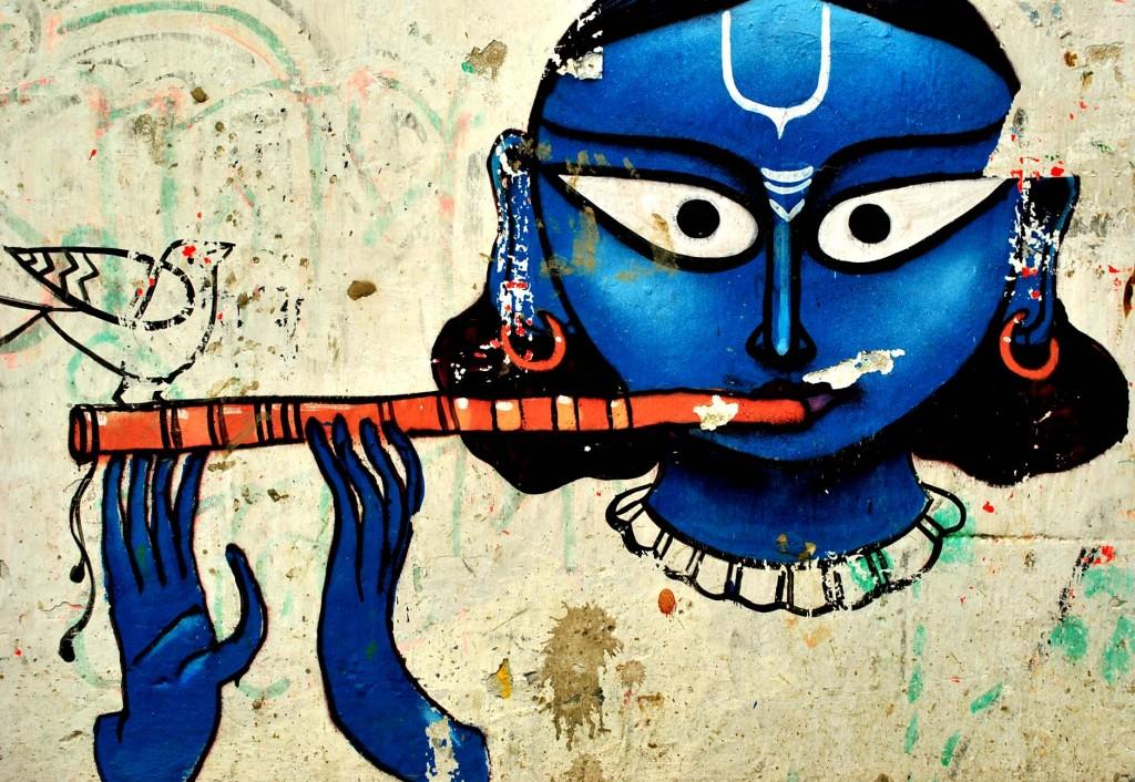 joueur de flute, kumortuli, calcutta, photo CC Big Eyed Sol