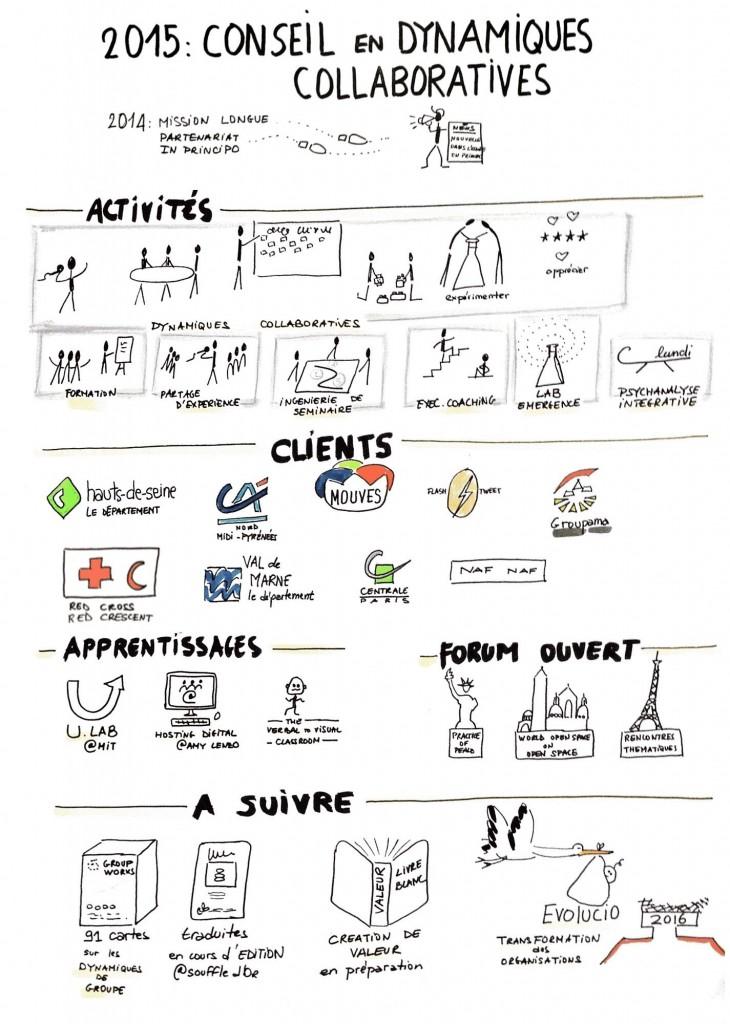 bilan 2015 conseil en dynamiques collaboratives