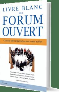 couverture du livre blanc sur le forum ouvert